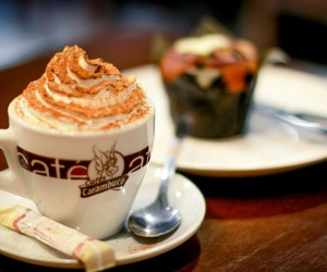 coffee, drink, and dessert image