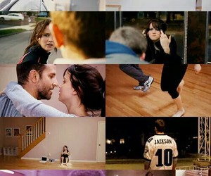 silver linings playbook, Jennifer Lawrence, and bradley cooper image