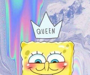 bob esponja, colors, and Queen image