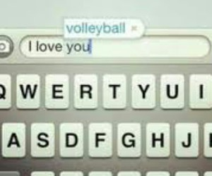 keyboard, volleyball, and you image