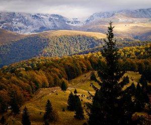 fall, mountain, and nice image