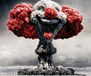 clown, explosion, and bomb image