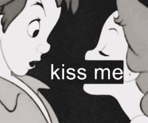 kiss, peter pan, and kiss me image