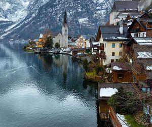 Alps, austria, and lake image