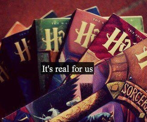 harry potter, book, and real image