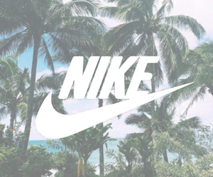 nike, palm trees, and summer image