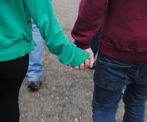 green, hands, and hold hands image