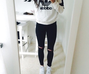 adidas, H&M, and live image