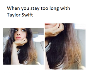 blonde, hair, and Taylor Swift image