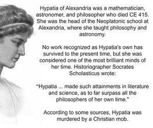 astronomy, philosophy, and hypatia image
