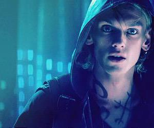 Jamie Campbell Bower and mortal instruments image