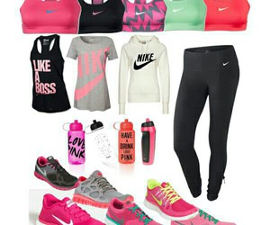 fitness, outfit, and nike image