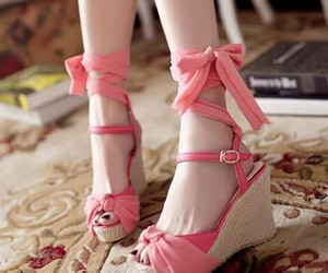 beauty, high heels, and sandals image