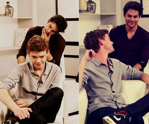 sexy, thomas sangster, and dylan o'brien image
