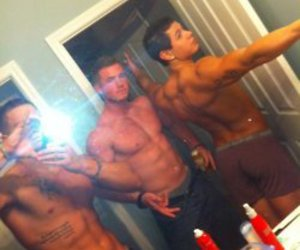 abs, boys, and Hot image