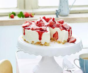 cheesecake, sweets, and desserts image