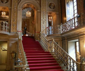 chatsworth house, manchester, and england image