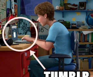 tumblr, toy story, and andy image