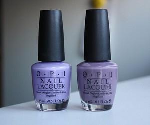 purple, nail polish, and nails image