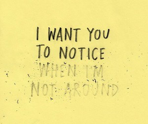 quote, love, and notice image