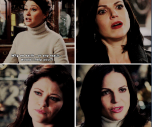 once upon a time, ouat, and regina mills image