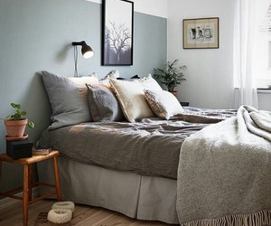 bed, decorate, and design image