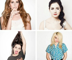 beauty queen, indie, and marina and the diamonds image