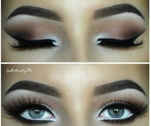 eyebrows, goals, and makeup goals image
