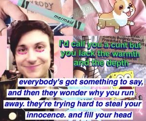 bambi, Lyrics, and tumblr image