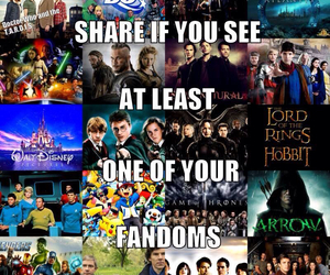 arrow, disney, and doctor who image