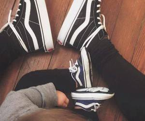 baby, shoes, and vans image