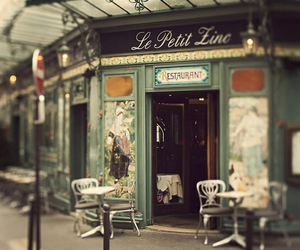 paris, cafe, and vintage image