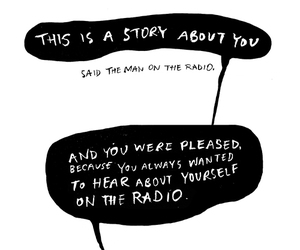 radio and story image