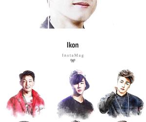 bobby, Ikon, and k-pop image