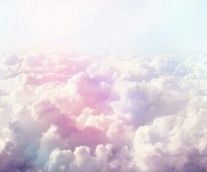 background, romantic, and sky image