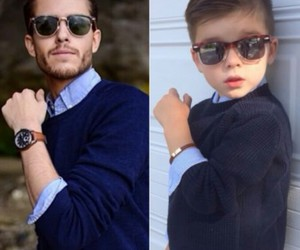 cute, boy, and style image
