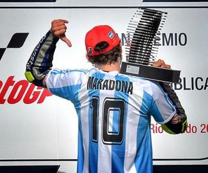 10, Maradona, and moto gp image