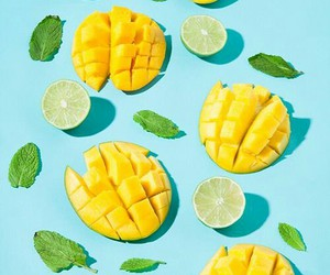 fruit, aesthetic, and mango image