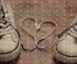 heart, shoes, and cute image