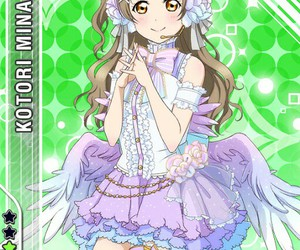 anime, card, and school idol project image