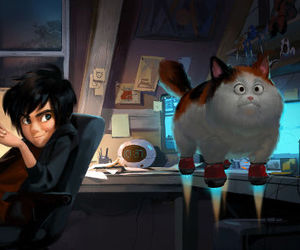 big hero 6 and hiro image