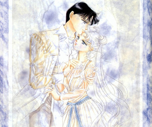 sailor moon and endymion image