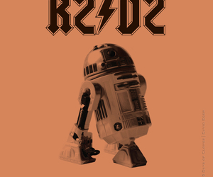 ACDC, funny, and r2d2 image