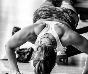 fit, push up, and fitness image