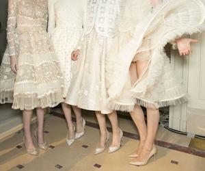 fashion, models, and Valentino image