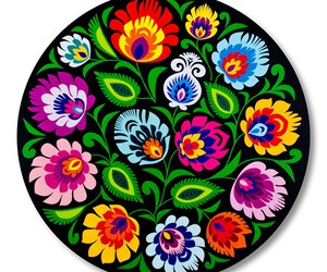 cutout, floral, and flower image