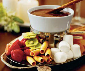 chocolate and fruit image