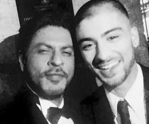 zayn malik, shahrukh khan, and one direction image