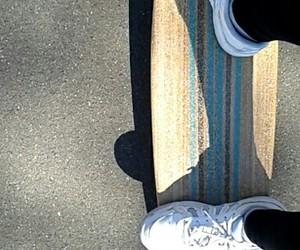 board, longboard, and penny image