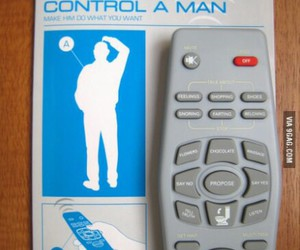 9gag, funny, and control a man image